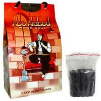 Charcoal Abo-Alabed Shisha Hookah Natural Wood Coal 1KG Pack Sheesha Pipe Coles