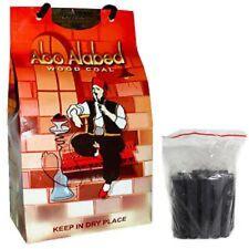 Charcoal Abo-Alabed Shisha Hookah Natural Wood Coal 1KG Pack Sheesha Pipe Coles