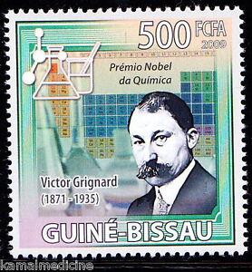 Guinea Bissau 2009 MNH, Victor Grignard, Nobel Chemistry along  Paul Sabatier