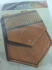 ORIGINAL Tandy Leather 44347-00 VICTORY BELT BAG KIT- Free Shipping To US !!