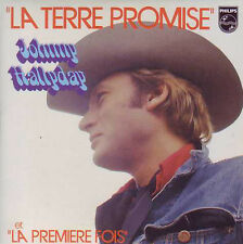 Johnny HALLYDAY La terre promise 2-track CARDSLEEVE CD SINGLE Philips 9838118