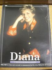 30/08/1998 Princess Diana: 'Diana, A Tribute To The Peoples Princess' Issued By