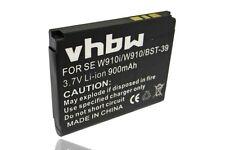 BATTERIA VHBW 900mAh PER SONY-Ericsson W700i, W800c, W910i, Z520a, Z520c
