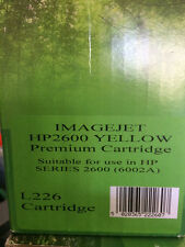 Imagejet New Toner Cart. for  HP 2600 - Yellow L226 (6002A)