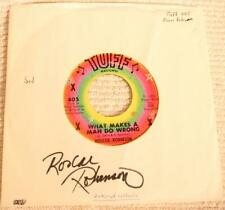 NORTHERN SOUL ROSCOE ROBINSON What Makes A Man Do Wrong TUFF 405 autographed M-