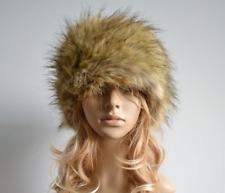 Women LadyFaux Fur Russian Style Cossack Winter warm Glamorous Cap Ski Hats Cap