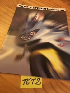Yamaha YZF600R Thundercat YZF 600R Catálogo Moto Folleto Prospecto Folleto