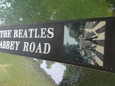 """Guitar strap The Beatles Abbey Road 2 1/2"""" width soft leaather"""