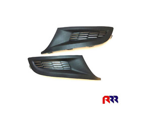 FOR VOLKSWAGEN POLO 6R 09-14 FRONT BAR GRILLE / FOG LAMP HOLE COVER - GENUINE