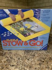"""Ravensburger Puzzle Stow and Go! Roll Up Storage Mat 46"""" x 26"""" - NEW Sealed"""