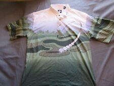 Mens Vtg Rare Tabasco Golf Team Polo Shirt Sz XXL