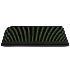 Fit 06-08 Gti/Jetta 2.0 Turbo Green Reusable&Washable High Flow Panel Air Filter