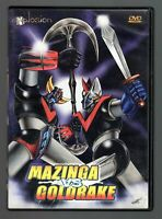 MAZINGA vs GOLDRAKE DVD in italiano