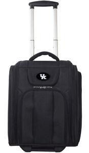 NCAA Kentucky Wildcats Deluxe Wheeled Laptop Overnighter BBN NIB HALF MSRP UK!