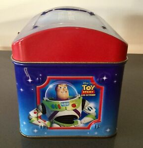 Disney Pixar Musical Tin Box Chest Toy Story Nemo Monsters Inc. The Incredibles