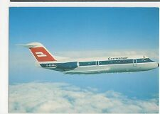 Germanair Fokker F28 Mk1000 Aviation Postcard, B008