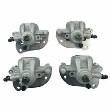 New Front Left Right Brake Calipers YAMAHA Grizzly 550 YFM550 With Pads 2009-14