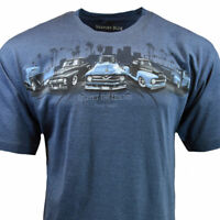 Mens Tee T Shirt M L XL American Muscle Trucks Cars Racing Graphic Sleeve NEW