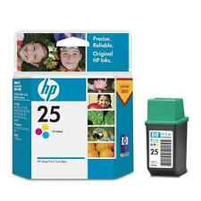 GENUINE ORIGINAL HP 25 COLOUR CARTRIDGE 300 400 420c 500c 540 550c  FAST POSTAGE
