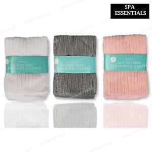 3 Pack  face towels cloth flannels wash cloths soft 30 x 30 cm