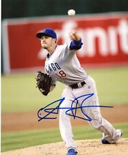 CHRIS RUSIN CHICAGO CUBS SIGNED AUTOGRAPHED 8X10 PHOTO W/COA