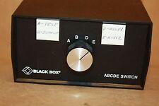 BLACKBOX SW026A-FFFFF SWITCH