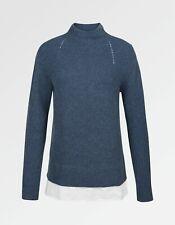 Neues AngebotFat Face-Damen-Saskia Pullover-blau-Größe 8-Bnwt