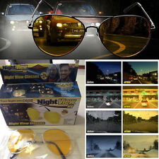 Fashion Night View Glasses NV Night vision Aviator Sunglasses Yellow