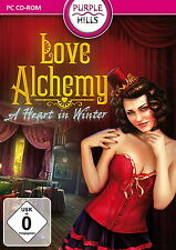 LOVE ALCHEMY * A HEART IN WINTER * WIMMELBILD-SPIEL  PC CD-ROM