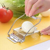 Stainless Steel Egg Cutter Egg Split Slicer Loose Flower Egg Multi-Valve Divi JE
