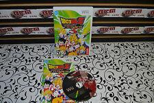 Dragon Ball Z: Budokai Tenkaichi 3 (Nintendo Wii, 2007) - COMPLETE