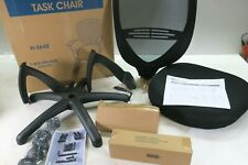 Uline Task Chair H 3642 Mesh Back Black Adjustable Height Office Chair New