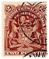 (I.B) Rhodesia/BSAC Revenue : Duty Stamp £2