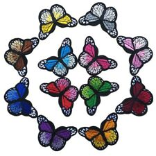 Colorful Butterfly Sew on/Iron on Embroidered  Patch Diy Craft Clothes Applique