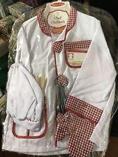 Costume Travestimento Carnevale Cuoco 3-6 anni Taglia Unica