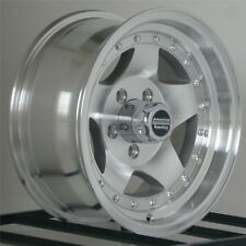 15 inch Wheels Rims FITS: Nissan Pickup Truck Toyota Chevy 6x5.5 Lug AR23 NEW