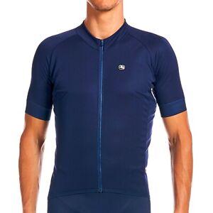 Giordana Cycling Short Sleeves SilverLine Jersey Navy Men|BRAND NEW