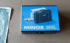 Vintage MINOX 35 EL Camera Box,Sleeve,Papers,Owner Manual,NO CAMERA, Clean Tool