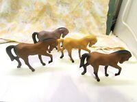 4 BOOTLEG Hartland Tinymite METAL Morgan Horse MAUREEN LOVE DURHAM INDUSTRIES 76
