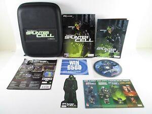 Tom Clancey's Splinter Cell PC Special Edition With Case Bonus Disc Sticker
