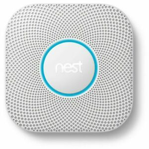 Nest Protect Smoke & Carbon Monoxide Alarm (Model S3003LWES) 2nd Gen New (Wired)