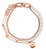 Liebeskind Berlin LJ-0255-B-17 armband damenkette edelstahl farbe rosegold neu