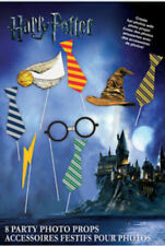 HARRY POTTER 8 photo booth props fun HAPPY BIRTHDAY party accessories Harry Ron