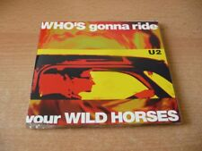 MAXI CD u2-Who 's gonna Ride Your Wild Horses-Limited Edition 1992 - 4 CHANSONS