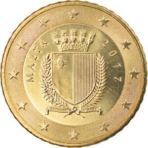 [#796514] Malte, 50 Euro Cent, 2017, SUP, Laiton, KM:New