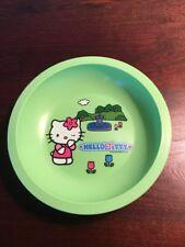 Hello Kitty Green Plastic Child's Bowl.