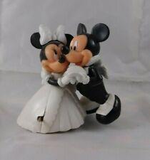 Disney Mickey Minnie Mouse Bride Groom Wedding Wind Up Couple