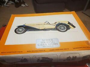 Vintage Pocher 1/8 Scale SPIDER TOURING GRAN SPORT model.