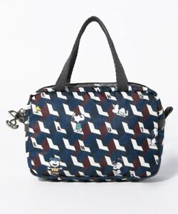 LeSportsac PEANUTS SNOOPY MICRO BAG Smartphone Tote Purse Pouch Japan M4719