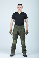 SALE! Russian army Tactical Pants with kneepad Combat Trousers pattern Olive Cvs